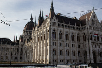 The house of the parliament, Budapest, Hungary