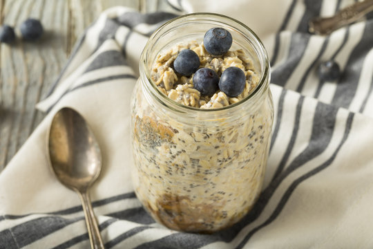 Healthy Homemade Overnight Oats Oatmeal