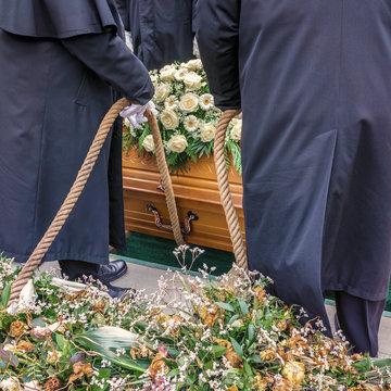 Beerdigung / Beisetzung