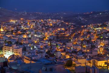 Evening neighbourhood among hills, Bethlehem