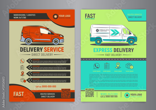 service flyer template free