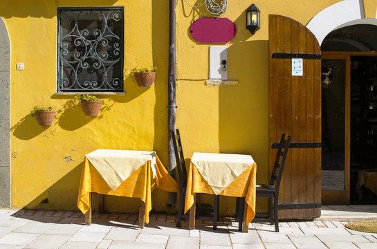 ristorante rustico in Italia