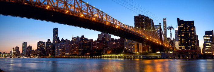 Manhattan skyline with Queensboro Bridge