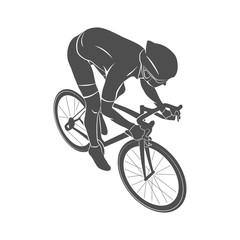 Athlete bike cyclist