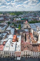 View on Lviv, Ukraine