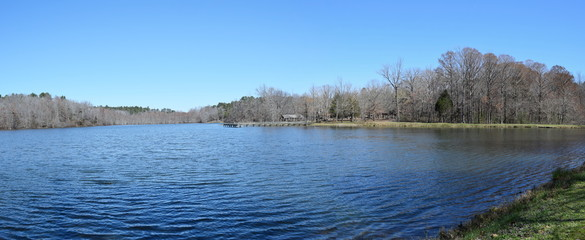 Spring Lake at Wall Doxey State Park in Mississippi