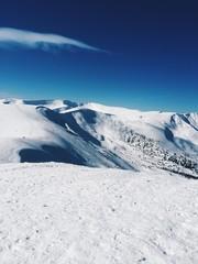 mountain snow top