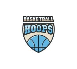 Basketball League Team Logo