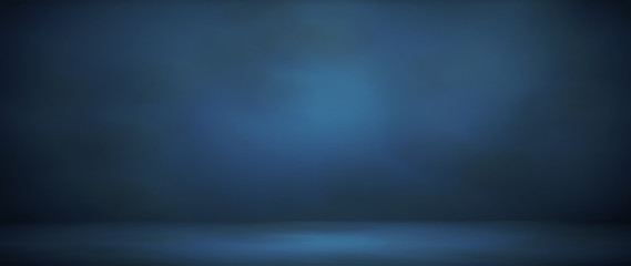 blur abstract soft  blue background Wall mural