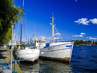 Stockholm, landing stage, Sweden
