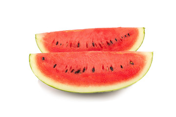 watermelon on white background
