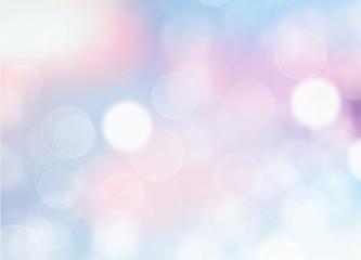 Soft blue blurred background.
