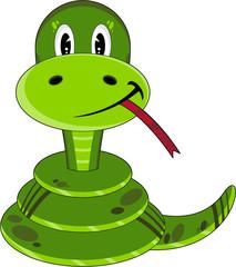 Cute Cartoon Snake