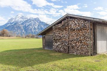 Bavarian Allgau Barn