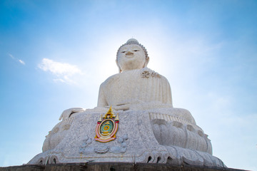 Big Buddha in Phuket, Thailand.