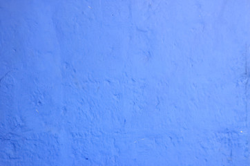 Textured wall, blue color