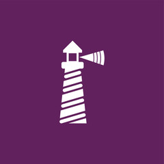 Lighthouse icon illustration isolated vector sign symbol