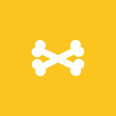 Bones icon illustration isolated vector sign symbol