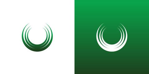 Abstract Circle Logo Icon Symbol