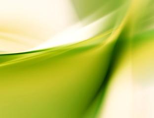 blurred green