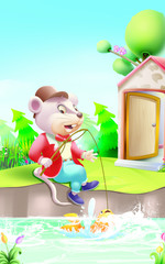 Little Tommy Tittle Mouse rhymes