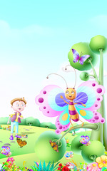 Butterfly are very beautiful Nursery rhymes
