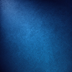 blue background with luxury abstract corner light or shining spotlight design with black gradient borders, vintage grunge texture, plain black and blue background with elegant dark colors