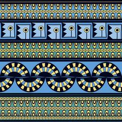Tribal pattern seamless vector. Ethnic peruvian pattern design