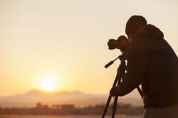 photographer at the beach