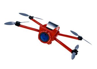 camera drone 3D rendering