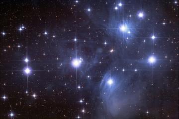 Plejaden, Sternhaufen im Sternbild Stier
