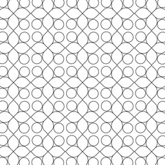 Circles vector pattern