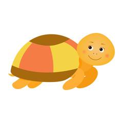 Turtle. Illustration for children