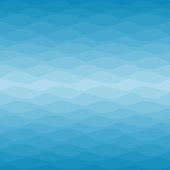 Seamless nautical ombre pattern