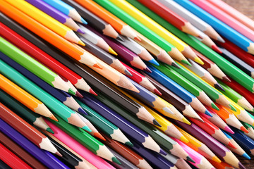 Drawing colourful pencils background