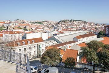 Stadtansicht von Lissabon, Portugal