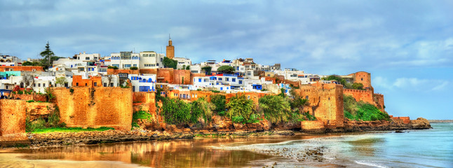 Aluminium Prints Morocco Kasbah of the Udayas in Rabat, Morocco
