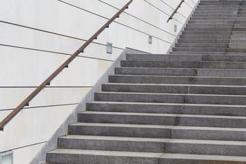 Keuken foto achterwand Trappen stairs of a modern building
