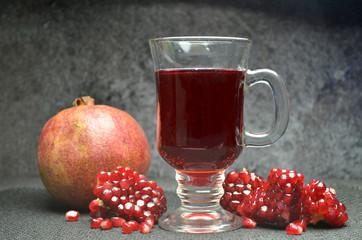 pomegranate fresh juice