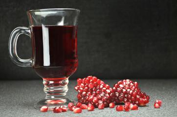 pomegranate juice fresf fruits bio diet