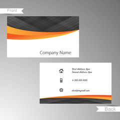 Beautiful vector design for Business Card Template or Visiting Card Template, fresh templates design for Business Card or Visiting Card.
