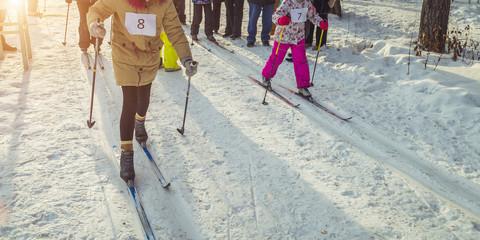 Children's ski competition