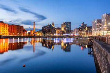 Liverpool Albert dock England Uk