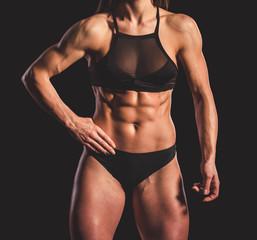Beautiful strong woman