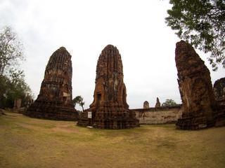 Wat Mahathat Temple , Ayutthaya