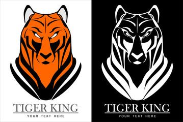 tiger head, tiger