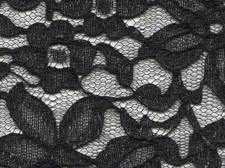 texture of lace fabric for background.