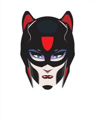 female superhero.