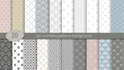 Vector damask seamless pattern background.pattern swatches included for illustrator user, pattern swatches included in file, for your convenient use. Wall mural