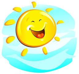 sun (cheerful)